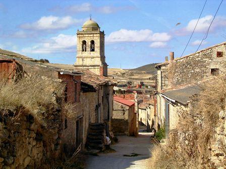 Hontanas, Camino de Santiago Francés